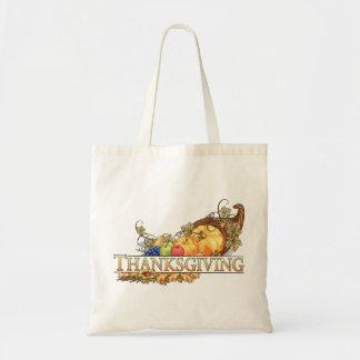 Happy Thanksgiving - Bolsa Tela Barata