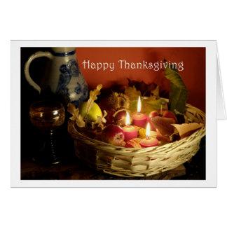 Happy Thanksgiving Card Tarjeta De Felicitación