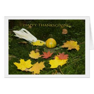 Happy Thanksgiving Tarjeta