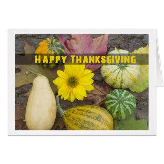 happy Thanksgiving Tarjeta De Felicitación