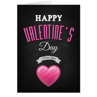 Happy valentine s day - I Love You Tarjetas