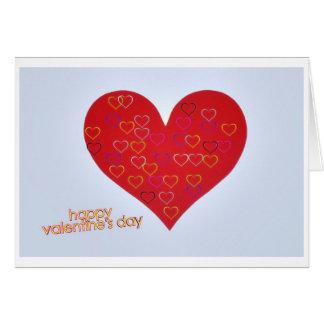 happy valentine s day tarjetón