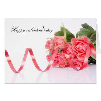Happy valentine' s day tarjeta de felicitación