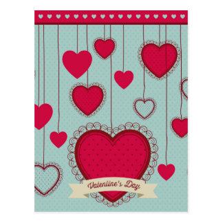 happy valentines tarjetas postales