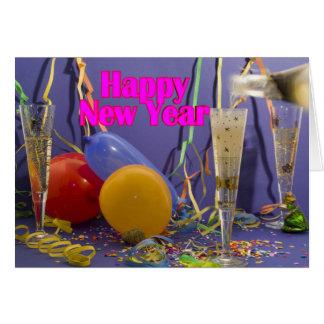 Happy Year New Tarjeta