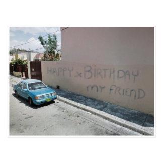 happyXbirthday de la postal de México