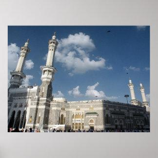 haram del al del masjid del al póster