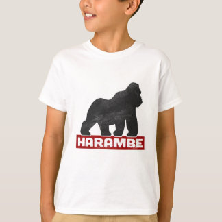HARAMBE materia de 2016 vidas Camiseta