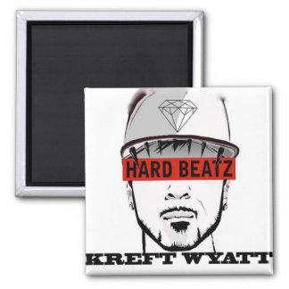 Hard Beatz Merchandising Imán Cuadrado