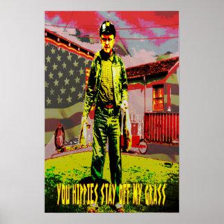 hardline-patriota póster