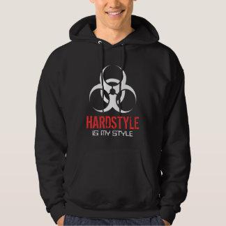 Hardstyle es mi estilo sudaderas con capucha