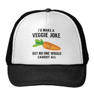 Haría que un Veggie bromea Gorro De Camionero