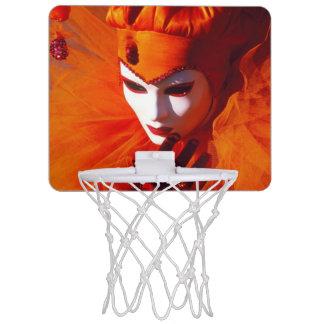 Harlequin hermoso mini aro de baloncesto