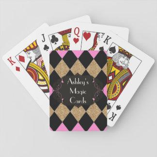 Harlequin_Magic-Cards-Template_Name_GBP Baraja De Cartas