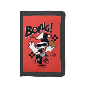 Harley-Quinn-En-UNO-Box de Chibi con el martillo