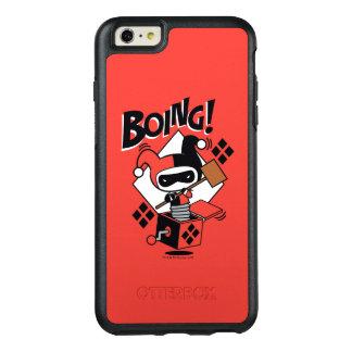 Harley-Quinn-En-UNO-Box de Chibi con el martillo Funda Otterbox Para iPhone 6/6s Plus