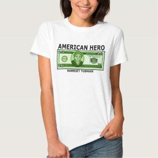 Harriet Tubman en el billete de dólar veinte Camiseta