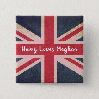 Harry AMA el botón real del cuadrado del boda de