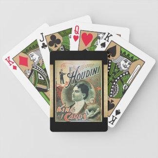 Harry Houdini Baraja De Cartas Bicycle