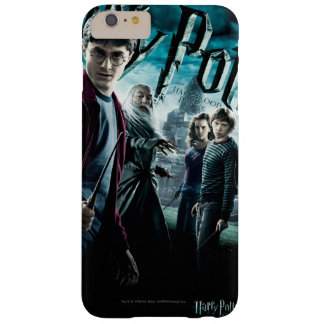 Harry Potter con Dumbledore Ron y Hermione 1 Funda De iPhone 6 Plus Barely There