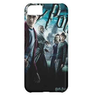 Harry Potter con Dumbledore Ron y Hermione 1
