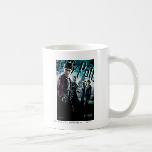 Harry Potter con Dumbledore Ron y Hermione 1 Taza