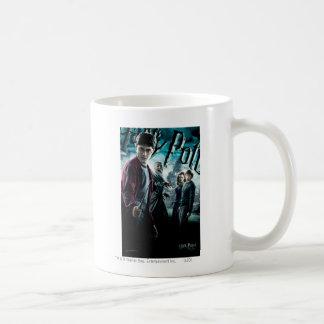 Harry Potter con Dumbledore Ron y Hermione 1 Taza Clásica