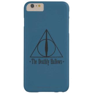 Harry Potter el | el mortal santifica el emblema Funda Barely There iPhone 6 Plus