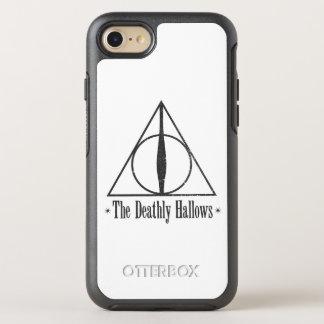 Harry Potter el | el mortal santifica el emblema Funda OtterBox Symmetry Para iPhone 8/7