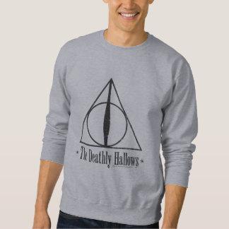 Harry Potter el | el mortal santifica el emblema Sudadera