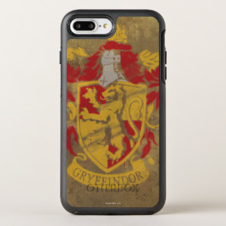 Harry Potter el | Gryffindor - escudo retro de la Funda OtterBox Symmetry Para iPhone 8 Plus/7 Plus