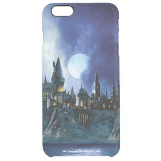 Harry Potter el   Hogwarts por claro de luna Funda Clear Para iPhone 6 Plus