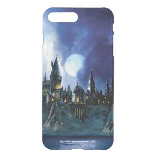 Harry Potter el   Hogwarts por claro de luna Fundas Para iPhone 7 Plus