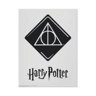 Harry Potter el   mortal santifica el icono Impresión En Lienzo