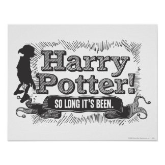 ¡Harry Potter! Ha estado tan de largo Póster