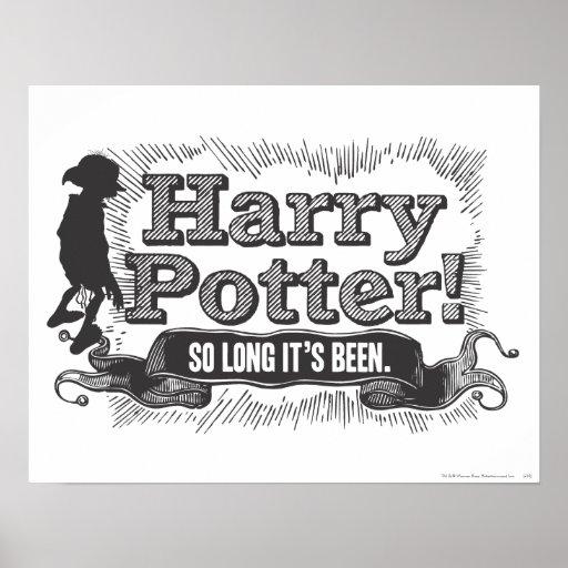 ¡Harry Potter! Ha estado tan de largo Posters