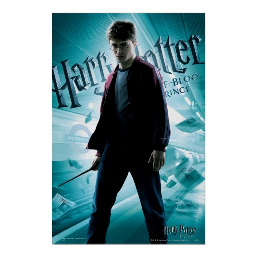 Harry Potter HPE6 2 Posters