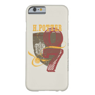 Harry Potter Quidditch Funda De iPhone 6 Barely There