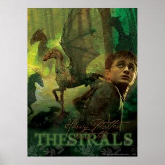 Harry Potter Thestrals Póster