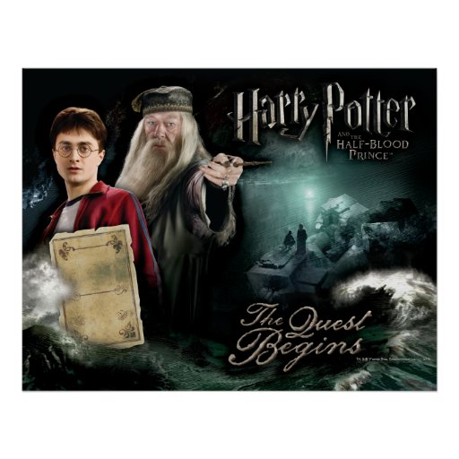 Harry Potter y Dumbledore Poster
