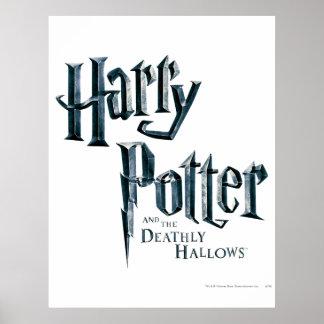 Harry Potter y el mortal santifica el logotipo 1 Póster