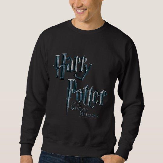 Harry Potter y el mortal santifica el logotipo 1 Sudadera