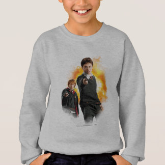 Harry Potter y Ron Weasely Sudadera
