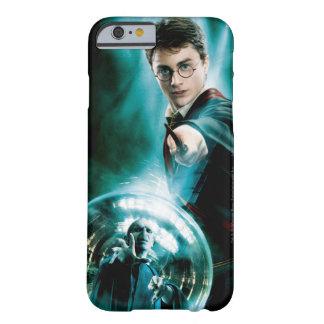 Harry Potter y Voldemort solamente uno pueden Funda Barely There iPhone 6