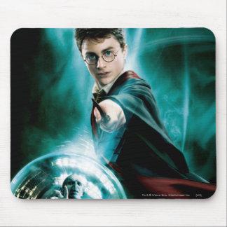Harry Potter y Voldemort solamente uno pueden sobr Alfombrilla De Ratón