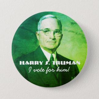 Harry S. Truman Chapa Redonda De 7 Cm