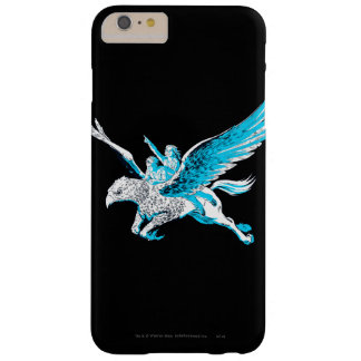 Harry y Hermione en un Hippogriff Funda De iPhone 6 Plus Barely There