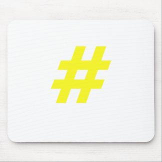 Hashtag Alfombrilla De Ratón