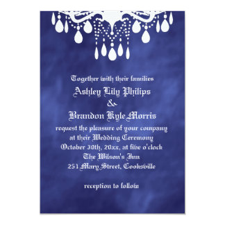 Hasta que la muerte nos hace parte en el boda invitación 12,7 x 17,8 cm