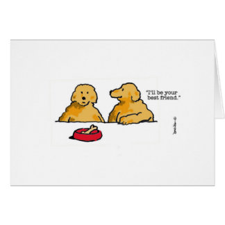Haven visto un amigo en un rato, envía una tarjeta